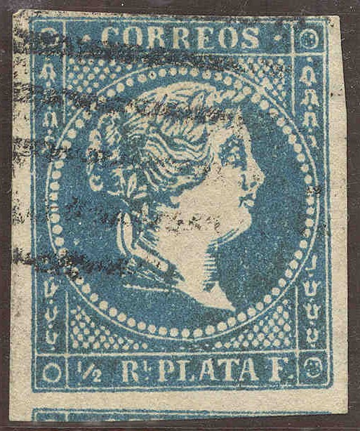 Goldsmith Postal Forgeries of 1st Issue of Antilles